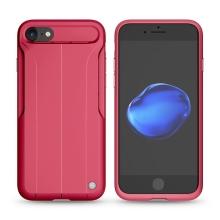 Kryt Nillkin Amp pro Apple iPhone 7 / 8 s pasivním zesilovačem zvuku - gumový - červený