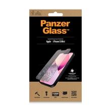 Tvrzené sklo (Tempered Glass) PANZERGLASS pro Apple iPhone 13 mini - čiré - antibakteriální - 0,4mm