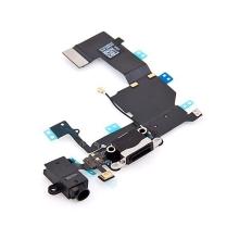 Napájecí a datový konektor s flex kabelem + audio konektor jack pro Apple iPhone 5C - kvalita A+