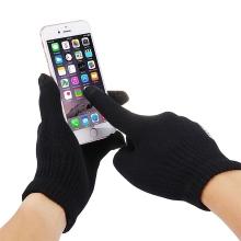 Rukavice HAWEEL pro ovládání dotykových zařízení - pánské (21cm)