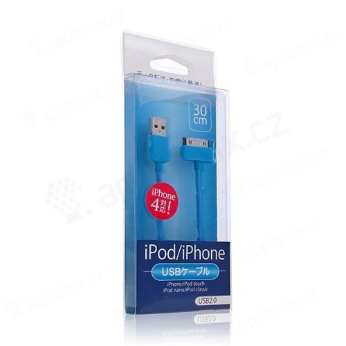 Synchronizační datový USB kabel pro iPhone / iPod / iPad barevný