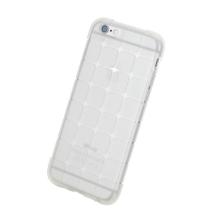 Gumový kryt ROCK pro Apple iPhone 6 / 6S - 3D kostky - průhledný