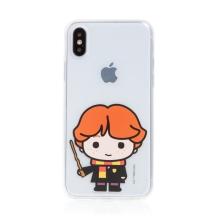 Kryt Harry Potter pro Apple iPhone X / Xs - gumový - Ron Weasley - průhledný
