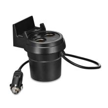 Autonabíječka + stojánek HOCO 2x USB port 5V / 3.1A + 2x zdířka 12V - do prostoru na kelímky