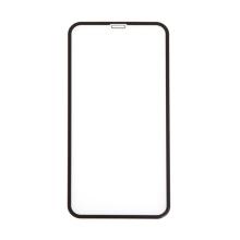 Tvrzené sklo (Tempered Glass) RURIHAI pro Apple iPhone Xr / 11 - na přední stranu - černý rámeček - 3D - 0,3mm
