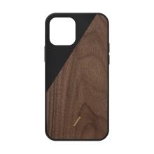 Kryt NATIVE UNION Clic Wooden pro iPhone 12 / 12 Pro - černý