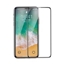 Tvrzené sklo (Tempered Glass) BASEUS pro Apple iPhone X / Xs - na přední část - 2,5D hrana - černý okraj - 0,2mm