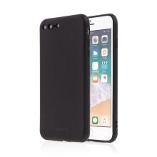 Kryt SWISSTEN Soft Joy pro Apple iPhone 7 Plus / 8 Plus - příjemný na dotek - silikonový - černý