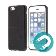 Kryt TACTICAL pro Apple iPhone 5 / 5S / SE - magnetický - černý