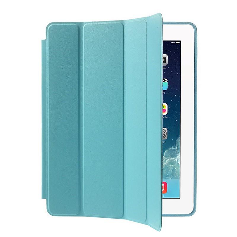 Pouzdro / kryt pro Apple iPad 2 / 3 / 4 - funkce chytrého uspání + stojánek - modré