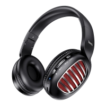 Bezdrátová Bluetooth sluchátka HOCO W23 - kvalitní zvukový projev - černá