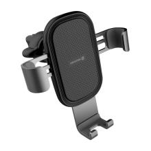 Držák do auta SWISSTEN G1 - AV3 pro Apple iPhone - automatické uchycení - do ventilační mřížky - černý