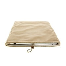 Ochranné pouzdro pro Apple iPad / iPad 2 semišové - béžové