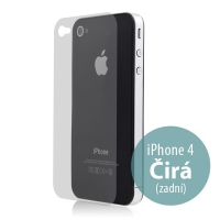 Zadní ochranná fólie pro Apple iPhone 4 / 4S - čirá