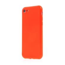 Kryt SWISSTEN Soft Joy pro Apple iPhone 7 / 8 / SE (2020) - příjemný na dotek - silikonový - červený