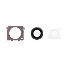 Krycí sklíčko zadní kamery Apple iPhone 6 Plus / 6S Plus - vesmírně šedé (Space gray) - kvalita A+