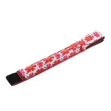 Pouzdro pro Apple Pencil - s gumou pro uchycení k iPad - červené květiny