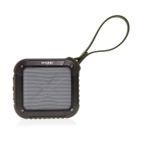 Reproduktor W-KING S7 outdoor Bluetooth - NFC, FM rádio a slot na TF karty - zelený