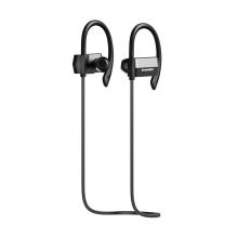 Sluchátka HAWEEL sportovní Bluetooth 4.1 s ovládáním a mikrofonem - černá