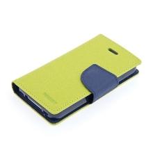 Pouzdro Mercury Fancy Diary pro Apple iPhone 4 / 4S, stojánek a prostor pro platební karty