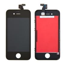 Náhradní LCD panel včetně dotykového skla (digitizéru) pro Apple iPhone 4S - černý - kvalita A+