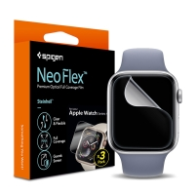 Ochranná fólie SPIGEN Neo Flex pro Apple Watch 40mm Series 4 / 5 / 6 / SE - sada 3 kusů - čirá