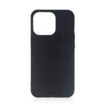 Kryt pro Apple iPhone 13 Pro Max - gumový - černý