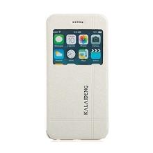 Ochranné pouzdro Kalaideng pro Apple iPhone 6 / 6S se stojánkem a průhledným prvkem / výřezem pro displej - bílé