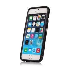 Kovový rámeček / bumper pro Apple iPhone 6 / 6S - černý