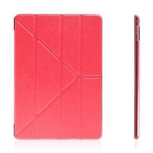 Pouzdro pro Apple iPad Pro 9,7 - variabilní stojánek a funkce chytrého uspání - červené