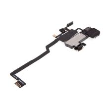 Horní reproduktor / sluchátko + flex kabel senzoru přiblížení (proximity) pro Apple iPhone X - kvalita A+
