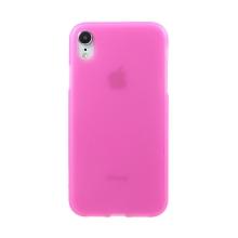 Kryt pro Apple iPhone Xr - gumový - matný - růžový