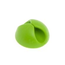 Spona / držák pro uspořádání kabelů - zelená
