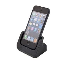 Dock (dokovací stanice) Lightning pro Apple iPhone 5 / 5C / 5S / SE - vysoký - černý
