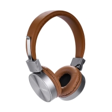 Sluchátka HOCO W2 kabelová - hnědá
