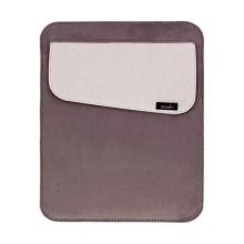 Elegantní kožené pouzdro Moshi pro Apple iPad - šedé