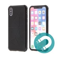 Kryt TACTICAL pro Apple iPhone X / Xs - magnetický - černý