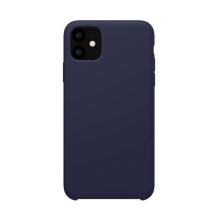 Kryt NILLKIN Flex Case pro Apple iPhone 11 - příjemný na dotek - silikonový - tmavě modrý