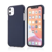 Kryt MERCURY Soft feeling pro Apple iPhone 11 - gumový - tmavě modrý