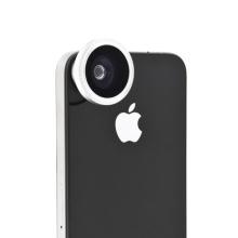 Širokoúhlý objektiv (rybí oko 180°) pro Apple iPhone 4 / 4S (obj. 13mm)