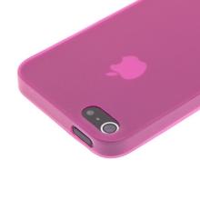 Kryt pro Apple iPhone 5 / 5S / SE - matný - plastový - tenký 0,5 mm