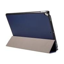 """Pouzdro / kryt pro Apple iPad Pro 12,9"""" / 12,9"""" (2017) - integrovaný stojánek - umělá kůže - tmavě modré"""