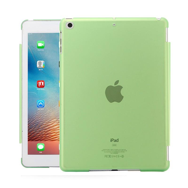 Kryt / obal pro Apple iPad Air1.gen / 9,7 (2017-2018) - plastový - matný - zelený