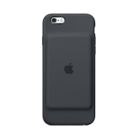 Originální Apple iPhone 6 / 6S Smart Battery Case - uhlově šedý