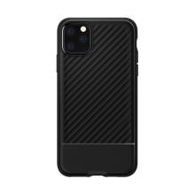 Kryt SPIGEN Core Armor pro Apple iPhone 11 Pro Max - vroubkovaný povrch - gumový - černý