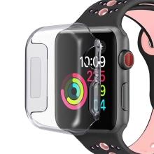 Kryt pro Apple Watch Series 4 / 5 40mm - gumový - průhledný
