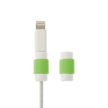 Plastová ochrana / rozlišovač na standardní tloušťku nabíjecích kabelů - náhodná barva