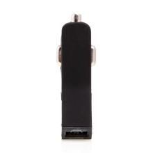 2v1 nabíjecí sada TYLT pro Apple zařízení - autonabíječka 2x USB (2.1A) + MFi certifikovaný kabel Lightning