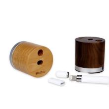Stojánek pro Apple Pencil - dobíjecí / dřevěný