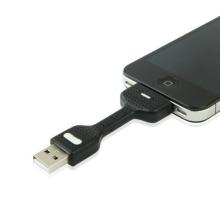 Mini synchronizační a nabíjecí kabel USB s 30-pin konektorem pro Apple iPhone / iPad / iPod